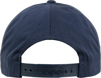 Image 3 of 5-panel curved classic snapback (7707)