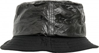 Image 3 of Crinkled paper bucket hat (5003CP)
